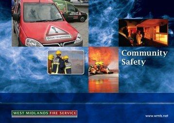 Community Safety Strategy - West Midlands Fire Service
