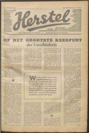 GROOTSTE KEERPUNT - Vakbeweging in de oorlog