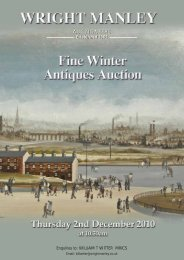 AUCTIONEERS Established 1861 - Wright Manley