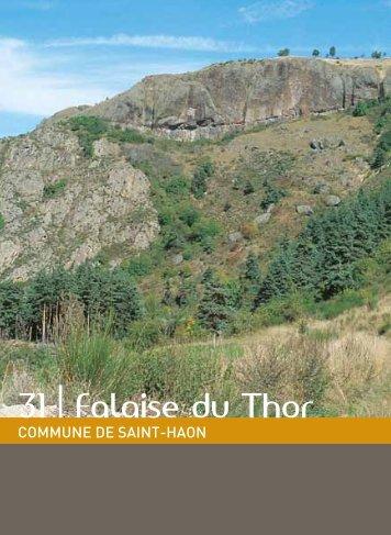 31 | Falaise du Thor - Vacances en Auvergne