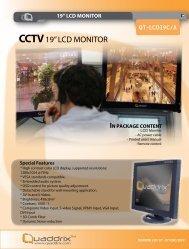 """CCTV 19"""" LCD MONITOR"""