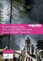 Superba Active Fresh. Jetzt neu mit GELTEX® inside. Besser ...