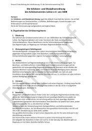 Schützen und Disziplinarordnung - Schützenverein Lohne eV von ...