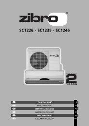 SC1226 - SC1235 - SC1246 - Zibro