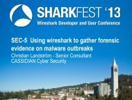 Using Wireshark to Gather Forensic Evidence on Malware ...