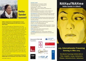 Flyer Internationaler Frauentag 2014 [PDF-Dokument, 387 KB]
