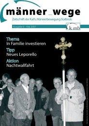 in familie investieren - Katholische Männerbewegung
