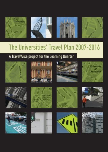 The Universities' Travel Plan - Auckland Transport