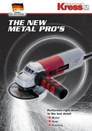 The new meTal pro's - Kress