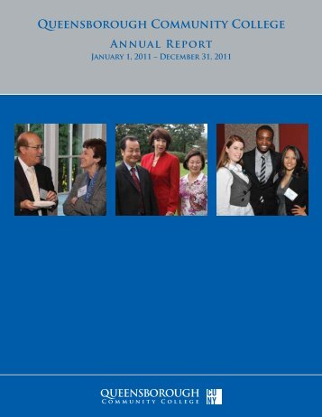 Annual Report (PDF) - Queensborough Community College - CUNY