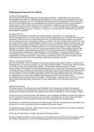 Haftungsausschluss der Fa - Dachfix.de