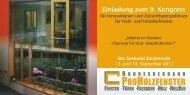 RO OLZFENSTER - Bundesverband ProHolzfenster eV
