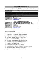 Soutěžní dokumentace (PDF, 183 kB) - CENIA, česká informační ...