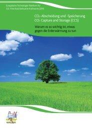 CO2-Abscheidung und -Speicherung CO2 Capture and Storage ...