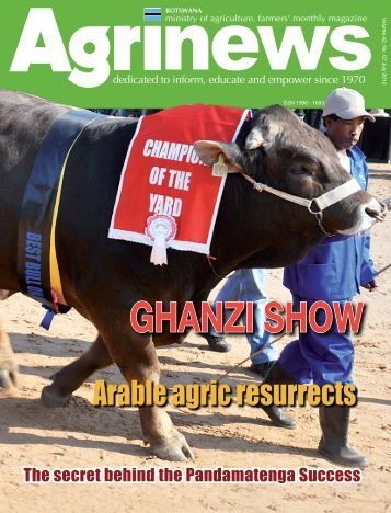 GHANZI SHOW - Ministry of Agriculture