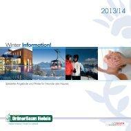 Winterinformation 2013-14 - Hotel Grüner Baum