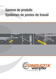 Gamme de produits Systèmes de postes de travail - Conductix ...