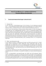 anlage 2 zum messstellen- und messrahmenvertrag - Stadtwerke ...