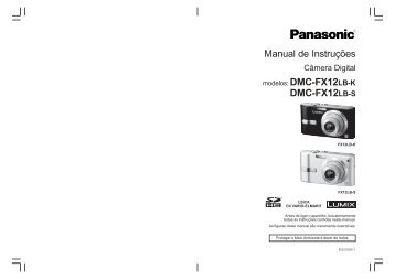 Manual DMC-FX12.pmd - Panasonic