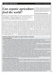 Can organic agriculture feed the world? - Pesticide Action Network UK
