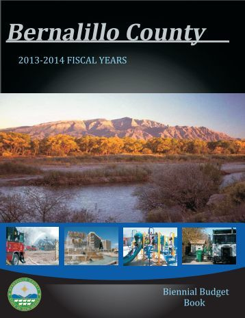Budget Book 2013 - 2014 - Bernalillo County