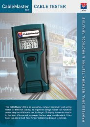 CableMaster Cable TesTer
