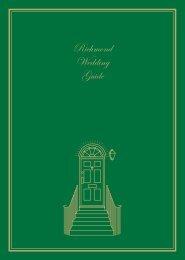 Richmond Wedding Guide - London Borough of Richmond upon ...