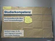 Studierkompetenz - Universität Hamburg