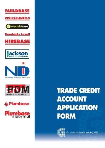 Open an account - Plumbase Industrial