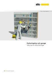 Parkeringshus och garage - Sto Scandinavia AB