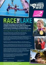 Programm des Team TBB Germany Triathlon Wochenendes - Tri2b