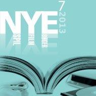 Nye bøger og spil 2013