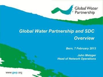 GWP Strategy standard presentation - SDC Water Network