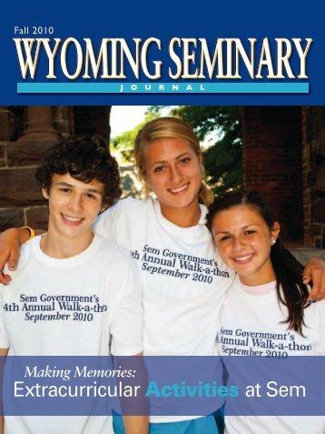 Extracurricular Activities at Sem - Wyoming Seminary