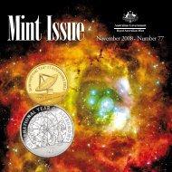 Mint Issue - November 2008 - Issue No. 77 - Royal Australian Mint