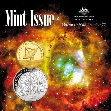 Mint Issue - November 2008 - Issue No. 77 - Royal Australian Mint