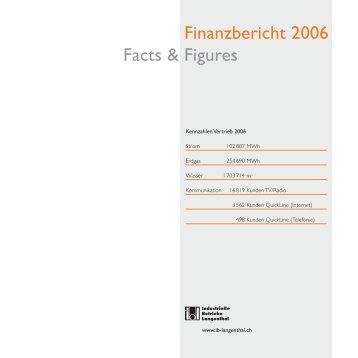 Finanzbericht 2006 Facts & Figures - Industrielle Betriebe Langenthal