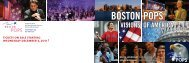 VISIONS OF AMERICA - Boston Symphony Orchestra