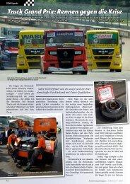 Truck Grand Prix: Rennen gegen die Krise - Kranmagazin.de