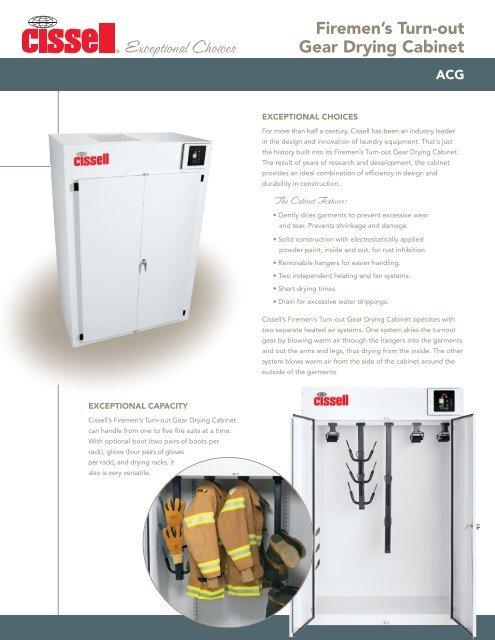 Charmant Cissell Turnout Gear Drying Cabinets   Western State Design