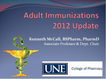 Vaccination - University of New England