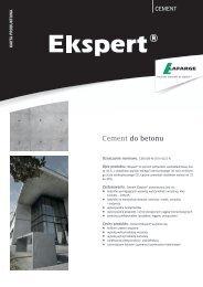 Cement do betonu - Lafarge