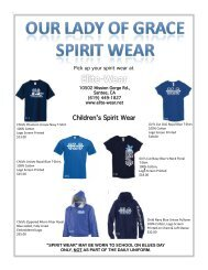 Children's Spirit Wear