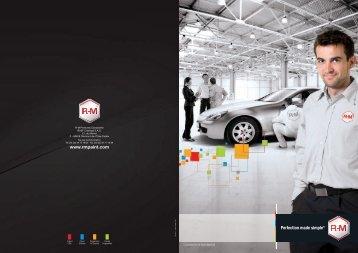 Brochure de présentation - RM Paint