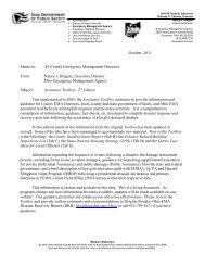 October, 2011 - Ohio Emergency Management Agency - State of Ohio