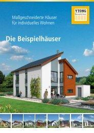 Die Beispielhäuser - Ytong Bausatzhaus GmbH