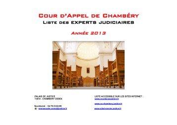 Liste 2013 - Cour de cassation