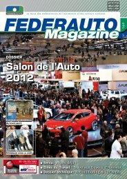 Dossier salon de l'Auto 2012 - Federauto Magazine