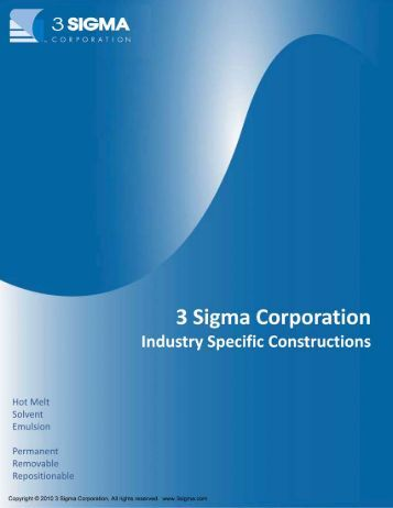 Industry Constructions Brochure - 3Sigma.cc