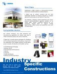 Industry Constructions Brochure - 3Sigma.cc - Page 2